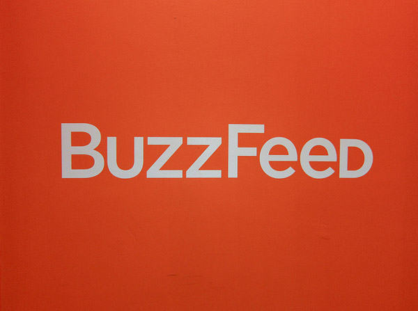 Image of the BuzzFeed logo