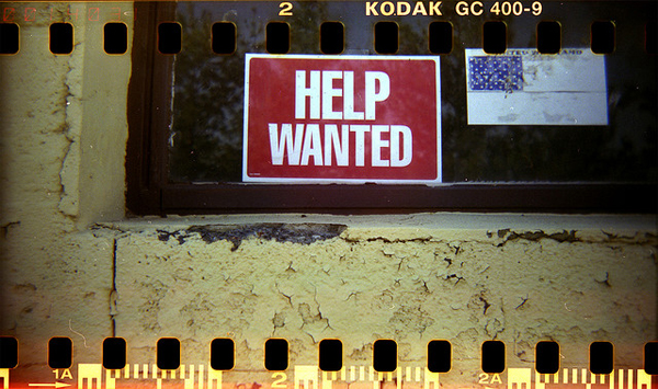 Image of a Help Wanted sign