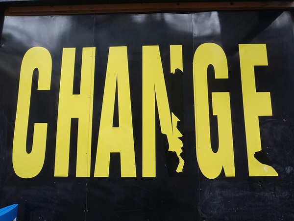 "Text that reads ""Change"""