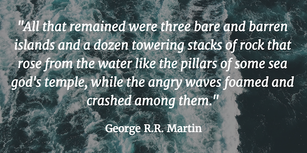 George R.R. Martin Iron Islands quote